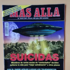 Coleccionismo de Revista Más Allá: MÁS ALLÁ DE LA CIENCIA. Nº 99/5/1997. SUICIDAS - DIVERSOS AUTORES. Lote 221284481