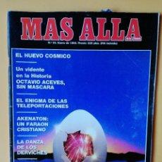 Coleccionismo de Revista Más Allá: MÁS ALLÁ DE LA CIENCIA. Nº 35. ENERO 1992. EL HUEVO CÓSMICO - DIVERSOS AUTORES. Lote 221284487