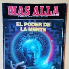 Coleccionismo de Revista Más Allá: MÁS ALLÁ DE LA CIENCIA. Nº 37. MARZO 1992. EL PODER DE LA MENTE - DIVERSOS AUTORES. Lote 221284492