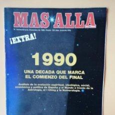 Coleccionismo de Revista Más Allá: MÁS ALLÁ DE LA CIENCIA. Nº EXTRAORDINARIO. DICIEMBRE 1989. 1990, UNA DÉCADA QUE MARCA EL COMIENZO DE. Lote 221284495