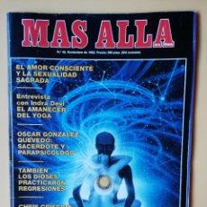 Coleccionismo de Revista Más Allá: MÁS ALLÁ DE LA CIENCIA. Nº 45. NOVIEMBRE 1992. EL AMOR CONSCIENTE Y LA SEXUALIDAD SAGRADA - DIVERSOS. Lote 221284500