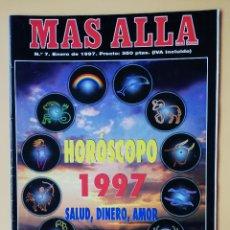 Coleccionismo de Revista Más Allá: MÁS ALLÁ DE LA CIENCIA. Nº 7. ENERO 1997. HORÓSCOPO 1997. SALUD, DINERO, AMOR - DIVERSOS AUTORES. Lote 221284501