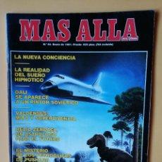 Coleccionismo de Revista Más Allá: MÁS ALLÁ DE LA CIENCIA. Nº 23. ENERO 1991. DALÍ SE APARECE A UN PINTOR SOVIÉTICO - DIVERSOS AUTORES. Lote 221284512