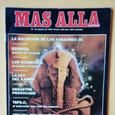Coleccionismo de Revista Más Allá: MÁS ALLÁ DE LA CIENCIA. Nº 18. AGOSTO 1990. LOS GUANCHES, UN PUEBLO OLVIDADO - DIVERSOS AUTORES. Lote 221284517