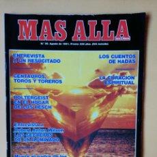 Coleccionismo de Revista Más Allá: MÁS ALLÁ DE LA CIENCIA. Nº 30. AGOSTO 1991. LA CURACIÓN ESPIRITUAL - DIVERSOS AUTORES. Lote 221284526