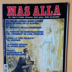 Coleccionismo de Revista Más Allá: MÁS ALLÁ DE LA CIENCIA. Nº 83/1/1996. LA REVELACIÓN DEL ÁNGEL MORONI - DIVERSOS AUTORES. Lote 221284531