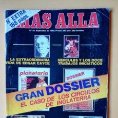 Coleccionismo de Revista Más Allá: MÁS ALLÁ DE LA CIENCIA. Nº 19 EXTRA. SEPTIEMBRE 1990. GRAN DOSSIER: EL CASO DE LOS CÍRCULOS DE INGLA. Lote 221284535