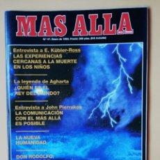 Coleccionismo de Revista Más Allá: MÁS ALLÁ DE LA CIENCIA. Nº 47. ENERO 1993. LAS EXPERIENCIAS CERCANAS A LA MUERTE EN LOS NIÑOS. Lote 221503697