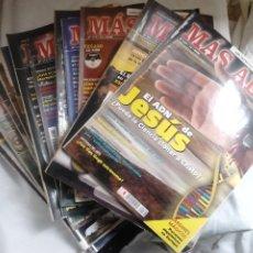 Coleccionismo de Revista Más Allá: 12 EJEMPLARES REVISTA MÁS ALLÁ DE LA CIENCIA + 2 ESPECIALES MÁS ALLÁ LO MEJOR. Lote 221905483