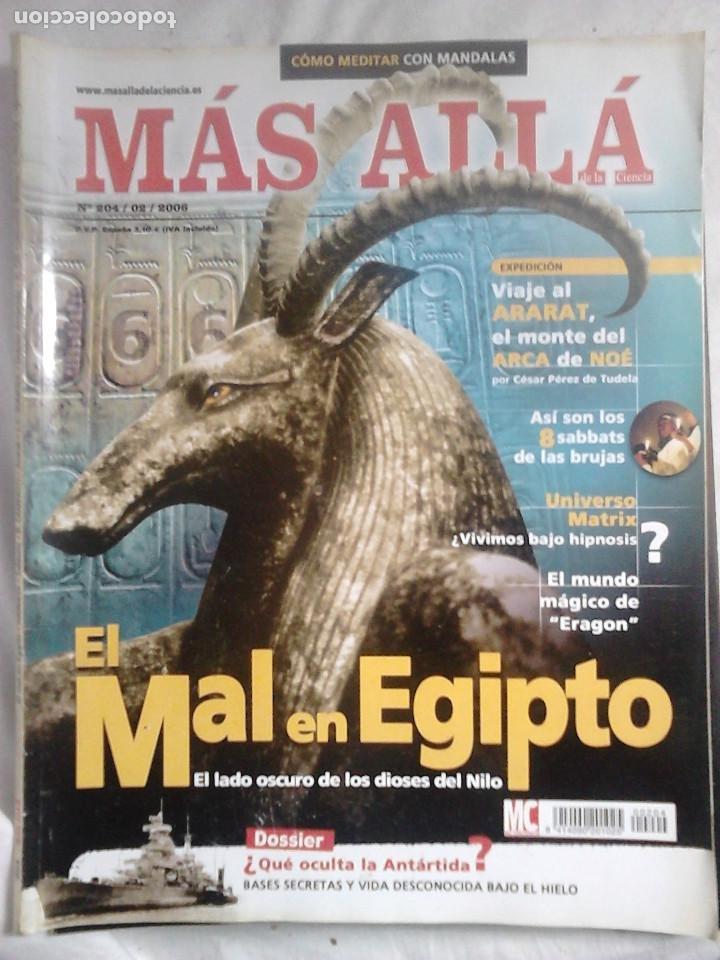 Coleccionismo de Revista Más Allá: 12 ejemplares revista Más Allá de la Ciencia + 2 especiales Más Allá Lo mejor - Foto 2 - 221905483