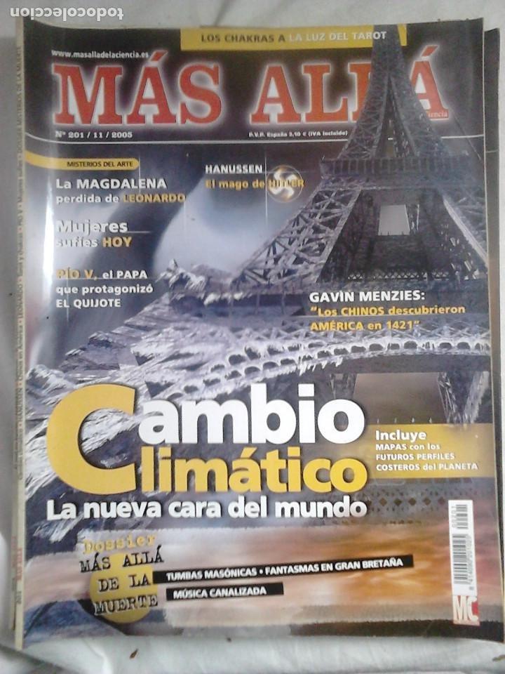 Coleccionismo de Revista Más Allá: 12 ejemplares revista Más Allá de la Ciencia + 2 especiales Más Allá Lo mejor - Foto 3 - 221905483