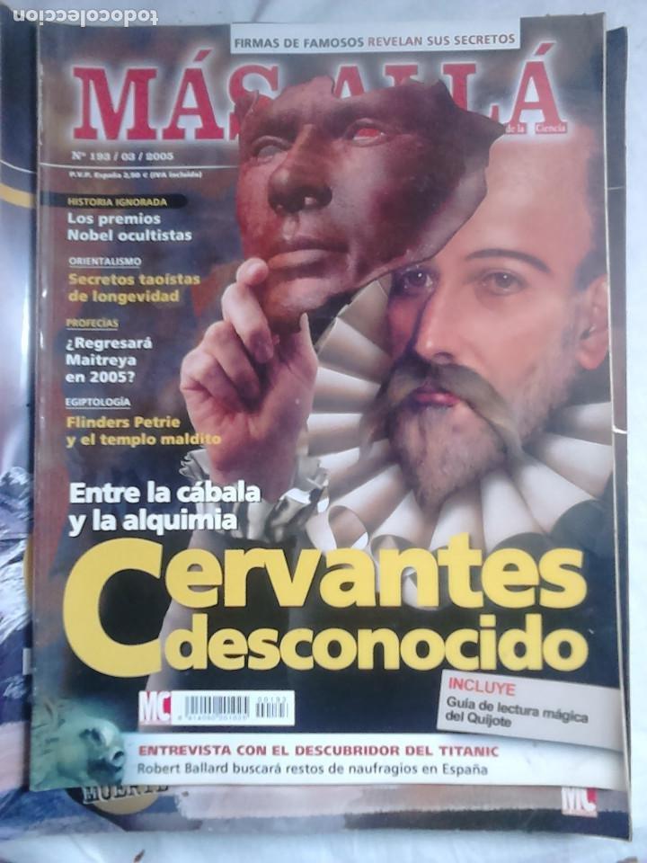 Coleccionismo de Revista Más Allá: 12 ejemplares revista Más Allá de la Ciencia + 2 especiales Más Allá Lo mejor - Foto 4 - 221905483