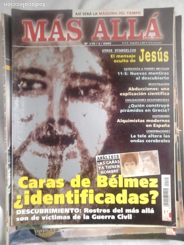 Coleccionismo de Revista Más Allá: 12 ejemplares revista Más Allá de la Ciencia + 2 especiales Más Allá Lo mejor - Foto 5 - 221905483