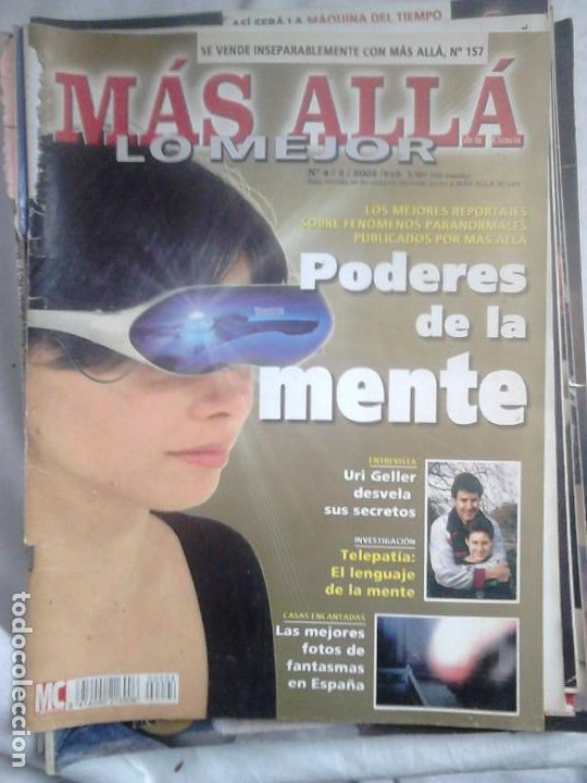 Coleccionismo de Revista Más Allá: 12 ejemplares revista Más Allá de la Ciencia + 2 especiales Más Allá Lo mejor - Foto 15 - 221905483