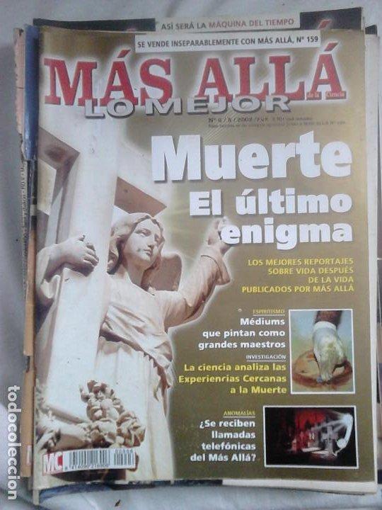 Coleccionismo de Revista Más Allá: 12 ejemplares revista Más Allá de la Ciencia + 2 especiales Más Allá Lo mejor - Foto 14 - 221905483
