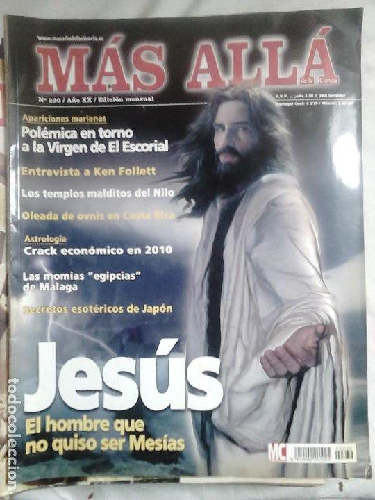 Coleccionismo de Revista Más Allá: 12 ejemplares revista Más Allá de la Ciencia + 2 especiales Más Allá Lo mejor - Foto 6 - 221905483
