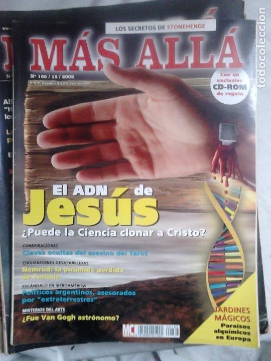 Coleccionismo de Revista Más Allá: 12 ejemplares revista Más Allá de la Ciencia + 2 especiales Más Allá Lo mejor - Foto 8 - 221905483