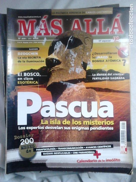 Coleccionismo de Revista Más Allá: 12 ejemplares revista Más Allá de la Ciencia + 2 especiales Más Allá Lo mejor - Foto 9 - 221905483