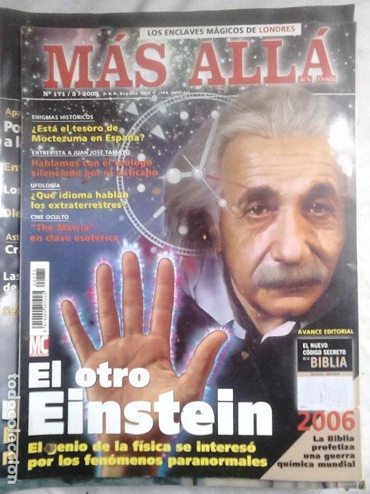 Coleccionismo de Revista Más Allá: 12 ejemplares revista Más Allá de la Ciencia + 2 especiales Más Allá Lo mejor - Foto 12 - 221905483
