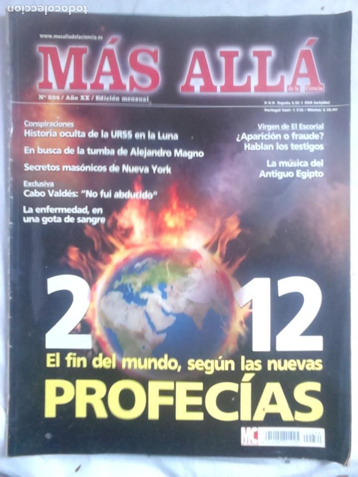 Coleccionismo de Revista Más Allá: 12 ejemplares revista Más Allá de la Ciencia + 2 especiales Más Allá Lo mejor - Foto 13 - 221905483