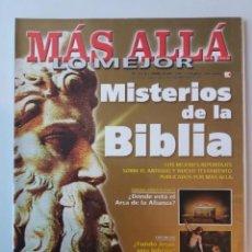 Coleccionismo de Revista Más Allá: MAS ALLA LO MEJOR Nº 2 / 1 / 2002 MISTERIOS DE LA BIBLIA. Lote 221907412