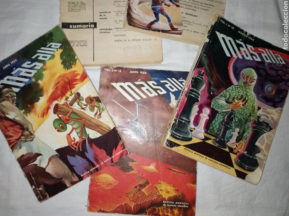 Coleccionismo de Revista Más Allá: Lote 5 Revista Más Allá. Año 1954. con faltas - Foto 2 - 223663181