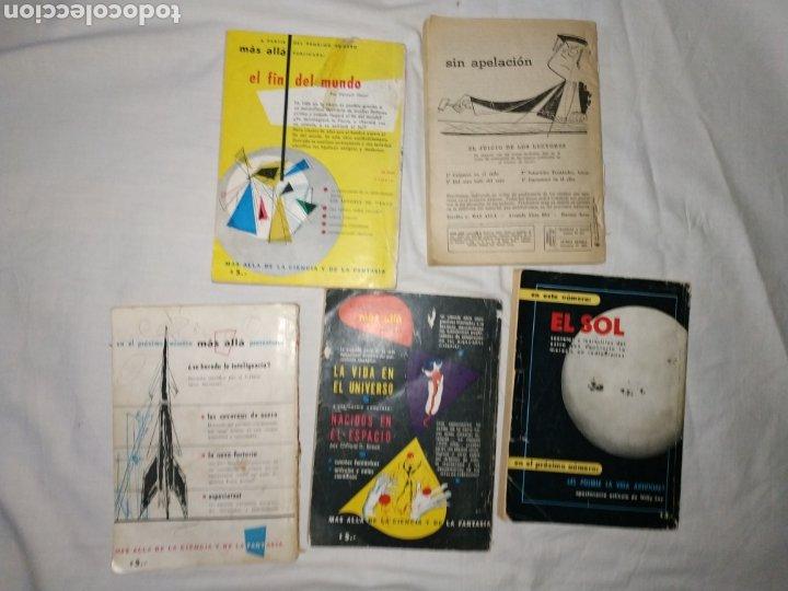 Coleccionismo de Revista Más Allá: Lote 5 Revista Más Allá. Año 1954. con faltas - Foto 3 - 223663181