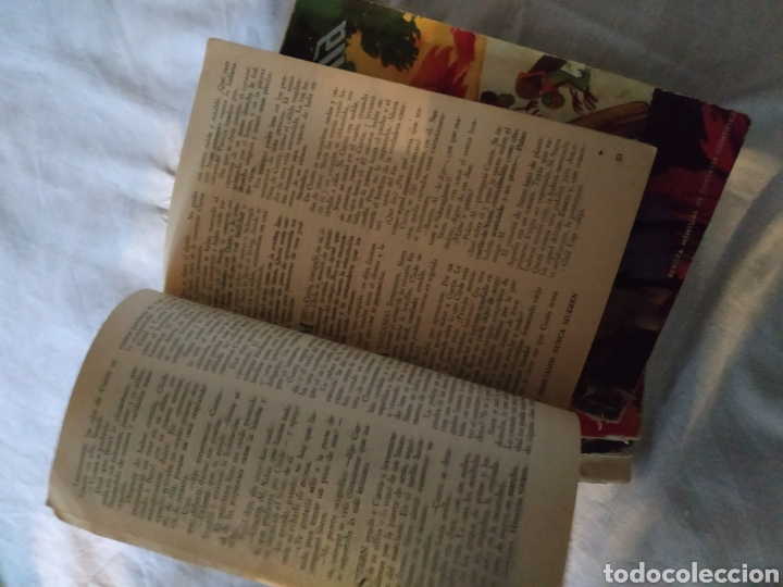 Coleccionismo de Revista Más Allá: Lote 5 Revista Más Allá. Año 1954. con faltas - Foto 6 - 223663181