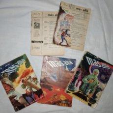 Coleccionismo de Revista Más Allá: LOTE 5 REVISTA MÁS ALLÁ. AÑO 1954. CON FALTAS. Lote 223663181