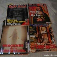 Coleccionismo de Revista Más Allá: LOTE DE 8 REVISTAS MAS ALLA Y 1 KARMA 7. Lote 225201027