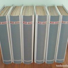 Coleccionismo de Revista Más Allá: 6 TOMOS. REVISTA MAS ALLA. DEL Nº 13 AL 84 (FALTAN EL 19 Y EL 20). Lote 237483320