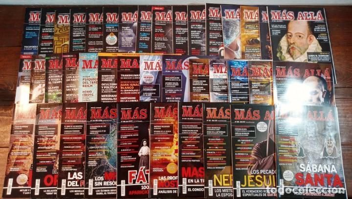 LOTE 40 NUMEROS REVISTA 'MAS ALLA' - NUEVAS A ESTRENAR (Coleccionismo - Revistas y Periódicos Modernos (a partir de 1.940) - Revista Más Allá)