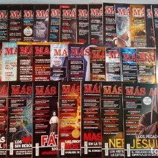 Coleccionismo de Revista Más Allá: LOTE 40 NUMEROS REVISTA 'MAS ALLA' - NUEVAS A ESTRENAR. Lote 241805345