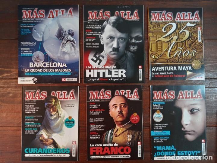 Coleccionismo de Revista Más Allá: LOTE 40 NUMEROS REVISTA MAS ALLA - NUEVAS A ESTRENAR - Foto 2 - 241805345