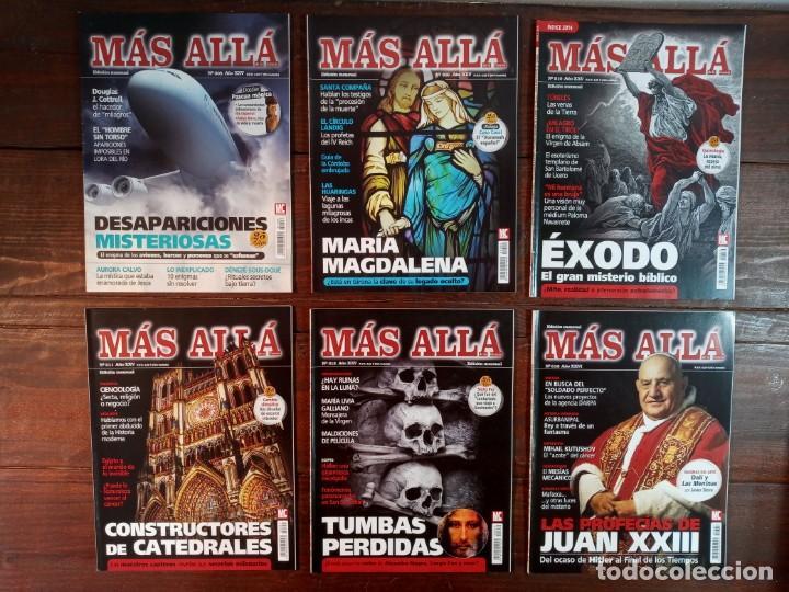 Coleccionismo de Revista Más Allá: LOTE 40 NUMEROS REVISTA MAS ALLA - NUEVAS A ESTRENAR - Foto 3 - 241805345