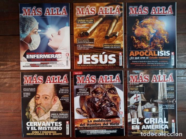 Coleccionismo de Revista Más Allá: LOTE 40 NUMEROS REVISTA MAS ALLA - NUEVAS A ESTRENAR - Foto 4 - 241805345