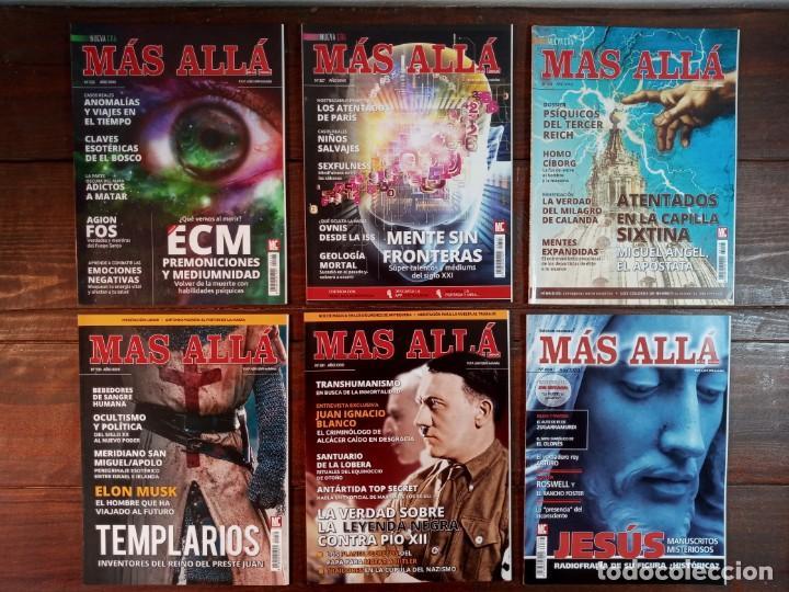Coleccionismo de Revista Más Allá: LOTE 40 NUMEROS REVISTA MAS ALLA - NUEVAS A ESTRENAR - Foto 5 - 241805345
