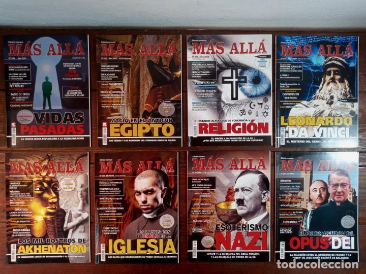 Coleccionismo de Revista Más Allá: LOTE 40 NUMEROS REVISTA MAS ALLA - NUEVAS A ESTRENAR - Foto 6 - 241805345