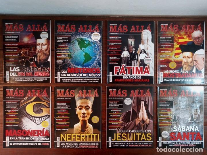 Coleccionismo de Revista Más Allá: LOTE 40 NUMEROS REVISTA MAS ALLA - NUEVAS A ESTRENAR - Foto 7 - 241805345