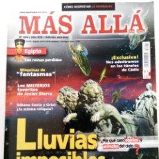 Coleccionismo de Revista Más Allá: MÁS ALLÁ Nº 224 - AÑO XIX - LLUVIAS IMPOSIBLES. Lote 244408185