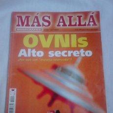 Coleccionismo de Revista Más Allá: MÁS ALLÁ DE LA CIENCIA MONOGRÁFICO, N.º 35/12/2000. OVNIS: ALTO SECRETO / UFOLOGÍA. Lote 251896475