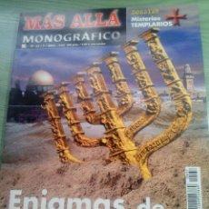 Collectionnisme de Magazine Más Allá: MUY BUENA REVISTA MÁS ALLA MONOGRÁFICO ENÍGMAS DE TIERRA SANTA. Lote 252159520