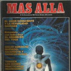 Collezionismo di Rivista Más Allá: MAS ALLA 45. Lote 252209275