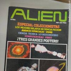 Coleccionismo de Revista Más Allá: 3X REVISTA ALIEN ESPECIAL COLECCIONISTA 1981 VOL. ENCUADERNADO. Lote 262499970
