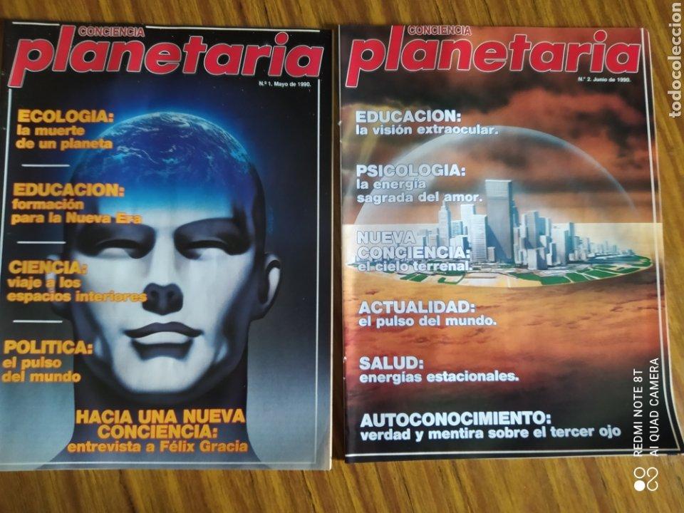 Coleccionismo de Revista Más Allá: Conciencia Planetaria, completa 25 núms. 8 + 17. - Foto 2 - 263026165
