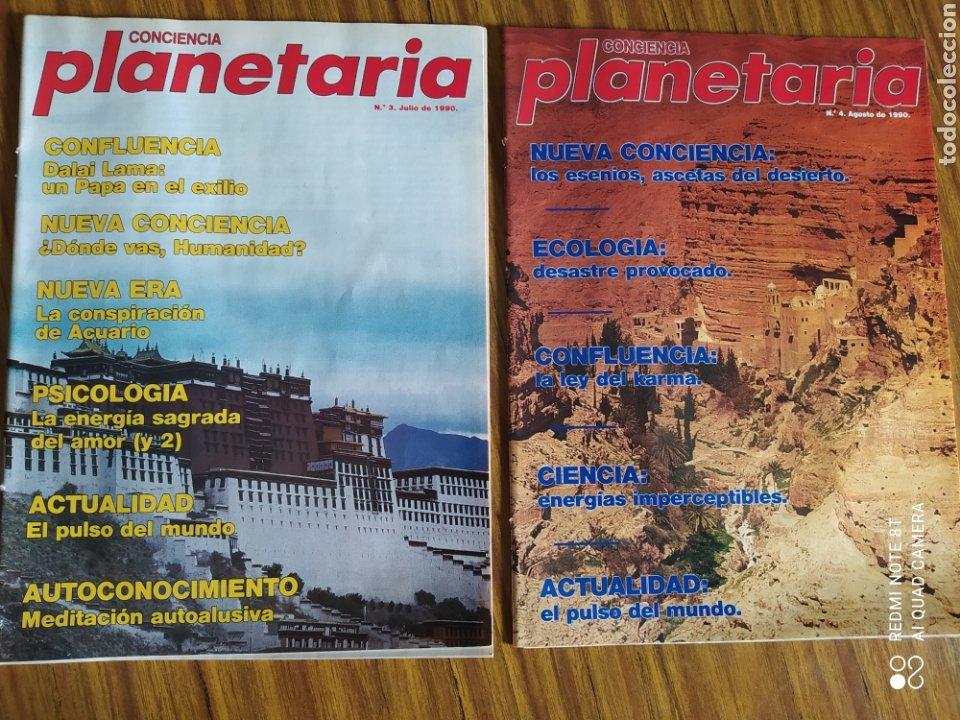 Coleccionismo de Revista Más Allá: Conciencia Planetaria, completa 25 núms. 8 + 17. - Foto 3 - 263026165