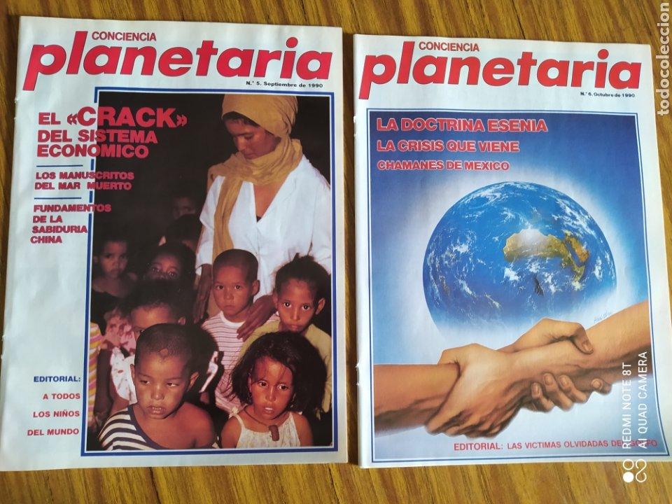 Coleccionismo de Revista Más Allá: Conciencia Planetaria, completa 25 núms. 8 + 17. - Foto 4 - 263026165