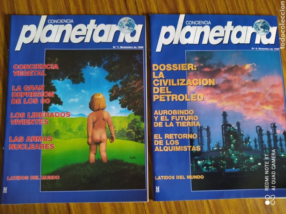 Coleccionismo de Revista Más Allá: Conciencia Planetaria, completa 25 núms. 8 + 17. - Foto 5 - 263026165