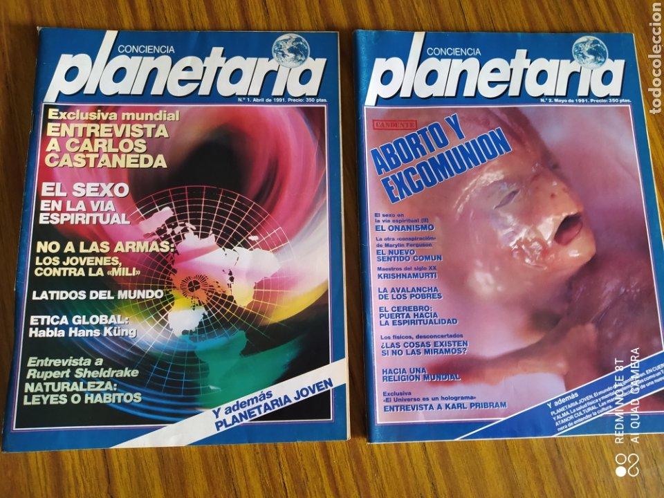 Coleccionismo de Revista Más Allá: Conciencia Planetaria, completa 25 núms. 8 + 17. - Foto 6 - 263026165