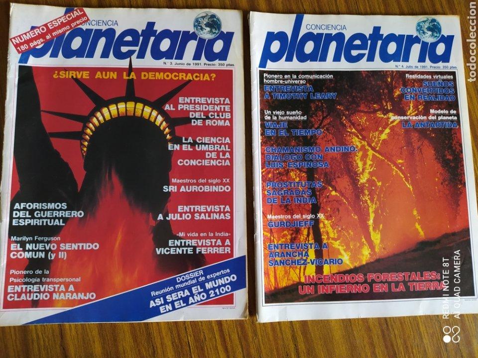 Coleccionismo de Revista Más Allá: Conciencia Planetaria, completa 25 núms. 8 + 17. - Foto 7 - 263026165